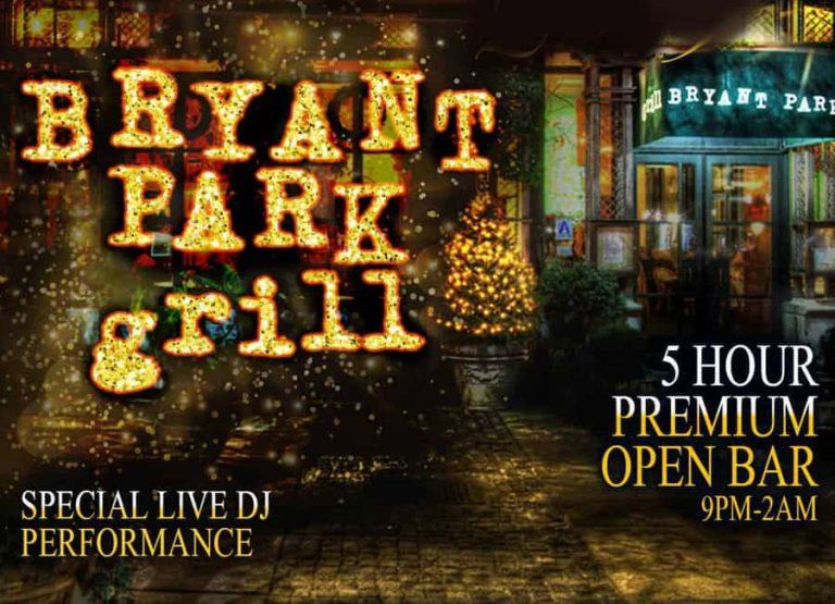 Bryant Park Grill NYE
